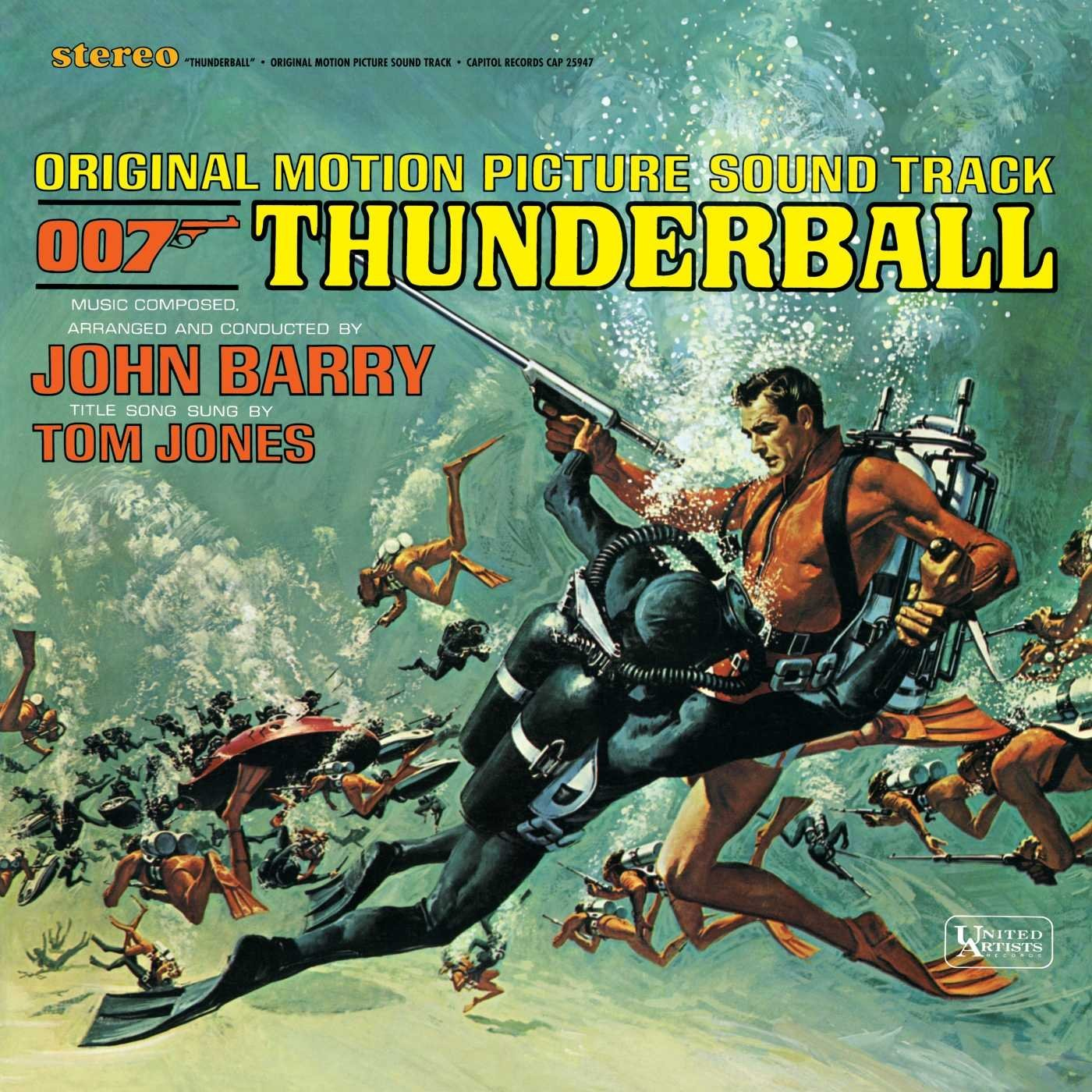 007 James Bond - Thunderball (1965) (vinile)