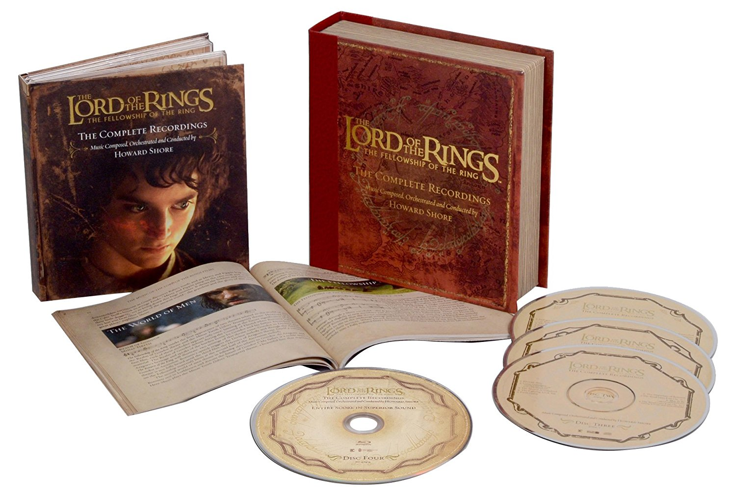 Lord of the rings (The): The fellowship of the ring - Il Signore degli anelli: La compagnia dell'anello - Complete Recordings