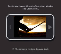 Ennio Morricone - The Quentin Tarantino movies - Ultimate cd con bonus e-book