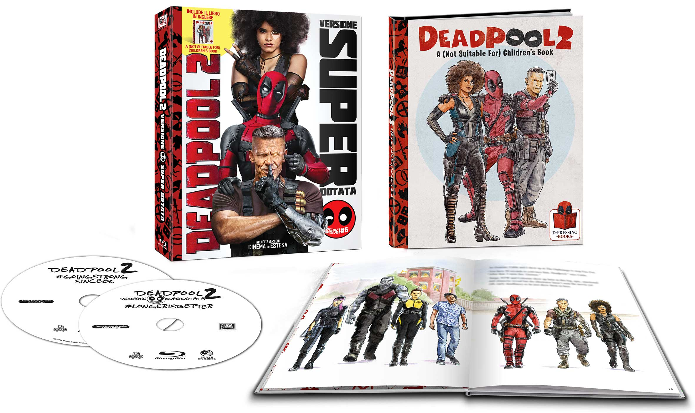 Deadpool 2 (2018) (Marvel) (edizione speciale booklet)