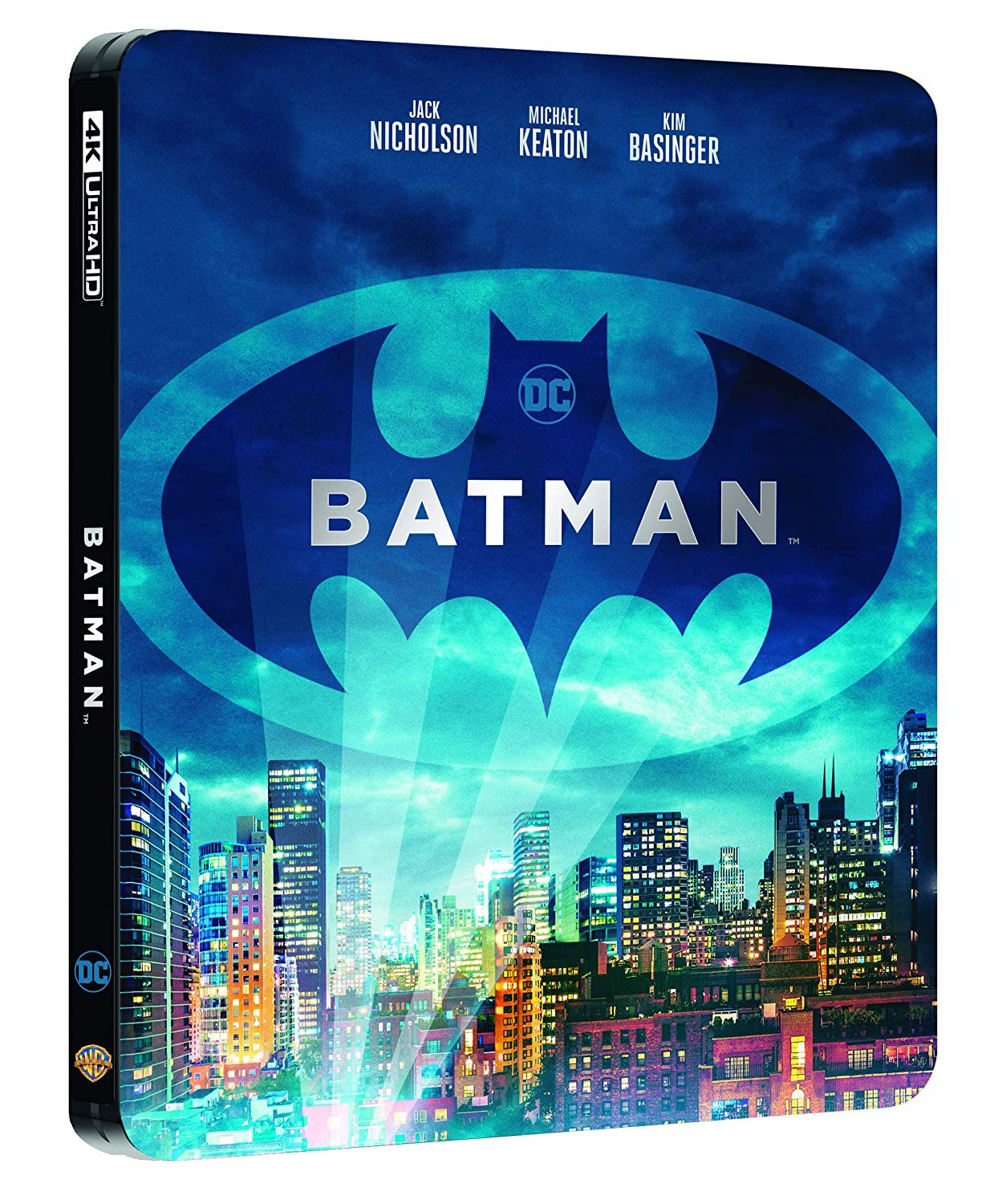 Batman (1989) (DC Comics) (4K) (edizione limitata steelbook)