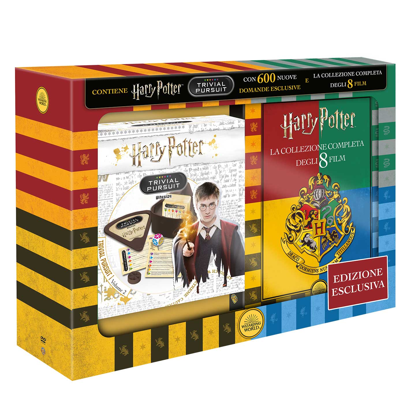 Harry Potter - Collezione completa + Trivial Pursuit