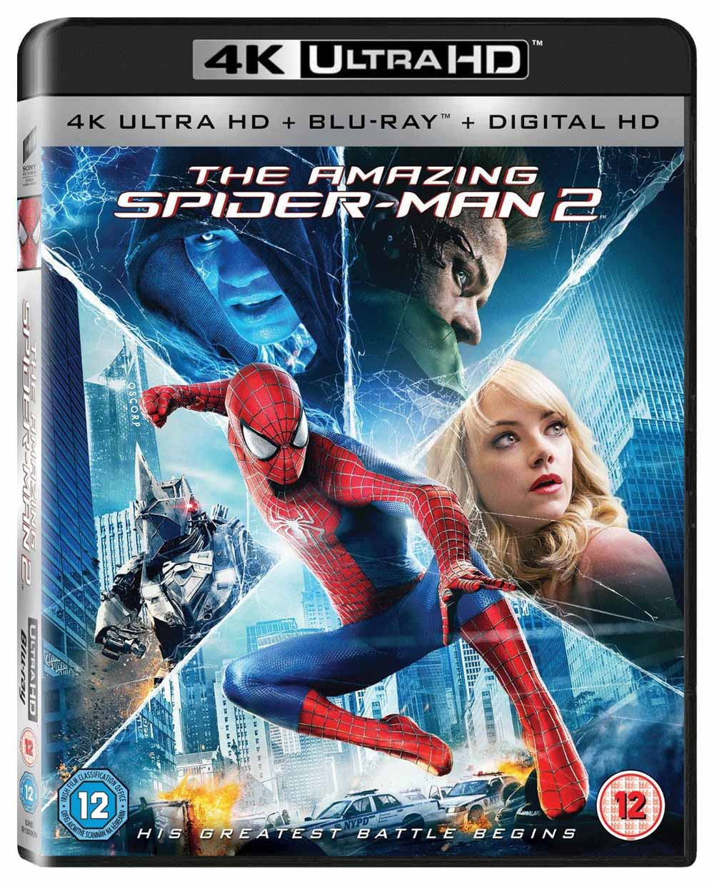 Amazing Spider-man 2 (The) - Il potere di Electro (2014) (Marvel) (4K)