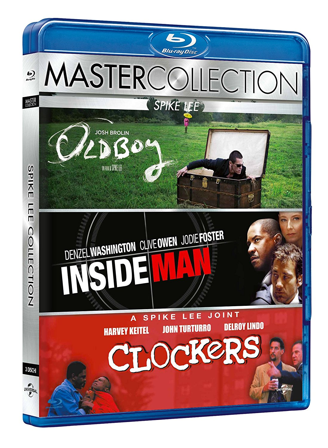 Spike Lee master collection: Clockers (1995) - Inside man (2006) - Old boy (2013)