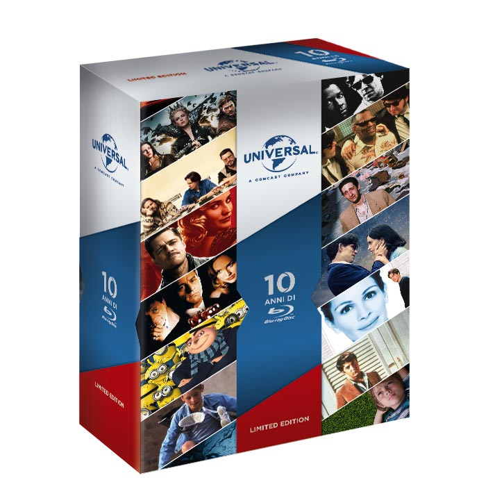 10 anni di Blu-Ray - Universal collection