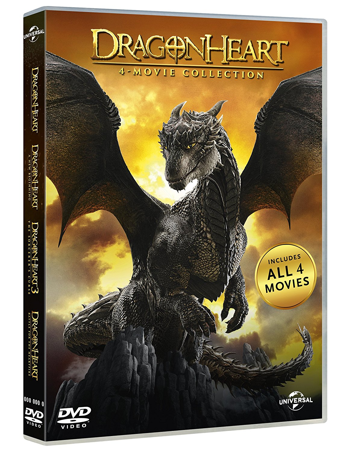 Dragonheart collection (4 film)