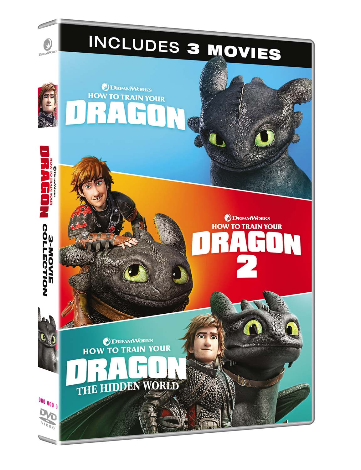 Dragon trainer collection 1-3