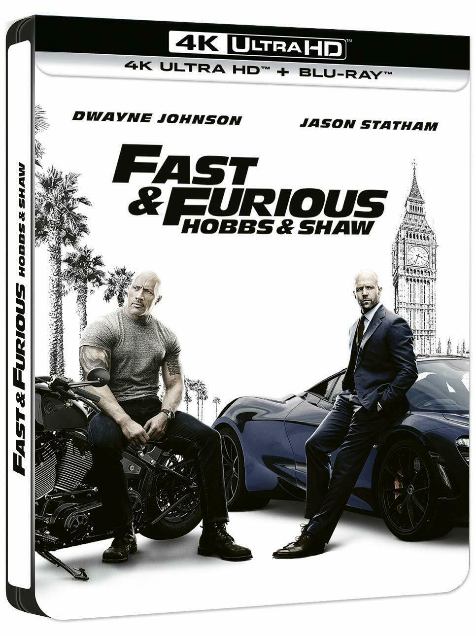 Fast and Furious - Hobbs and Shaw (2019) (4K)