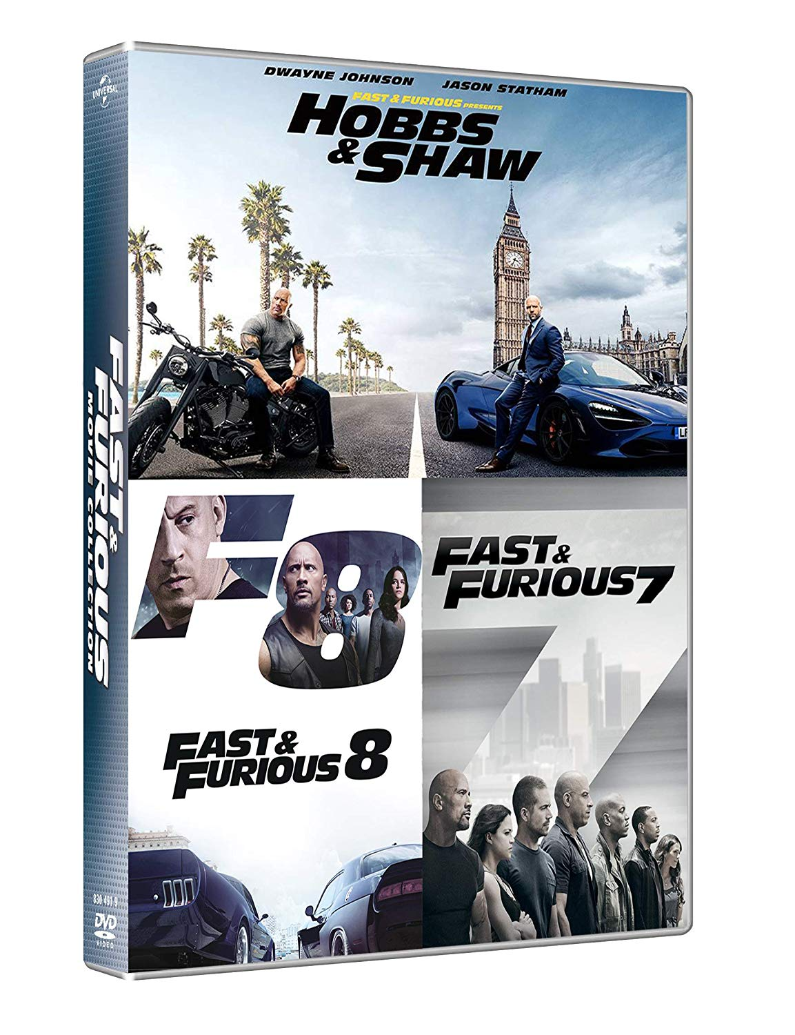 Fast and Furious collection 7-9