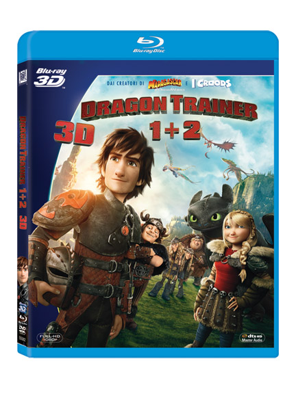 Dragon trainer (2010) / Dragon trainer 2 (2014) (3D)