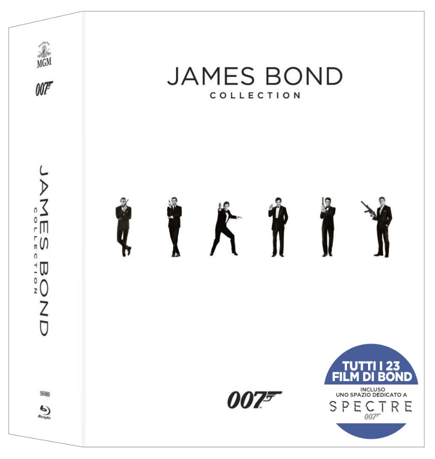 007 James Bond collection (limited edition)