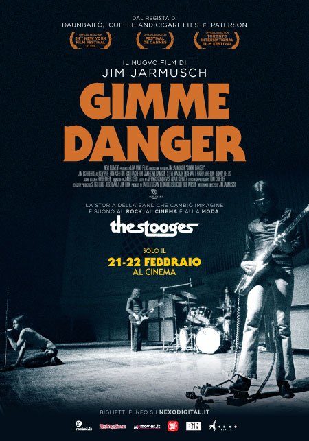 Gimme danger (Iggy Pop and The Stooges) (2016)