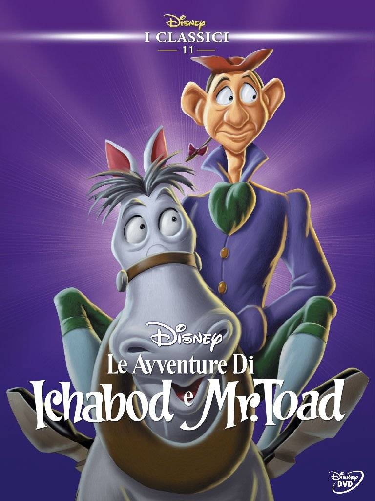 Avventure di Ichabod e Mr. Toad (Le) (1949) (Disney)