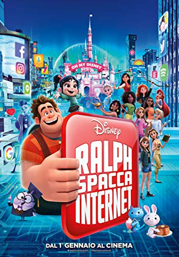 Ralph spacca internet (2018) (Disney) (edizione limitata steelbook)
