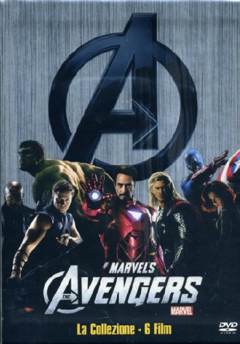 Marvel's the Avengers collection: The Avengers (2012) - Captain America (2011) - L'incredibile Hulk (2008) - Iron Man (2008) - Iron Man 2 (2010) - Thor (2011)