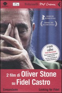 Comandante / Looking for Fidel - 2 film di Oliver Stone (libro + 2dvd)