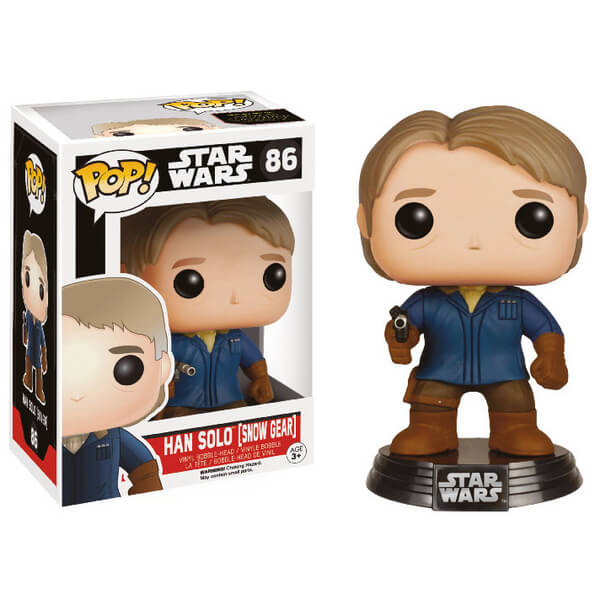 Star Wars VII - Funko Pop Han Solo snow gear #86