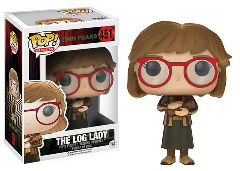 Pop television - Twin Peaks - The Log Lady #451