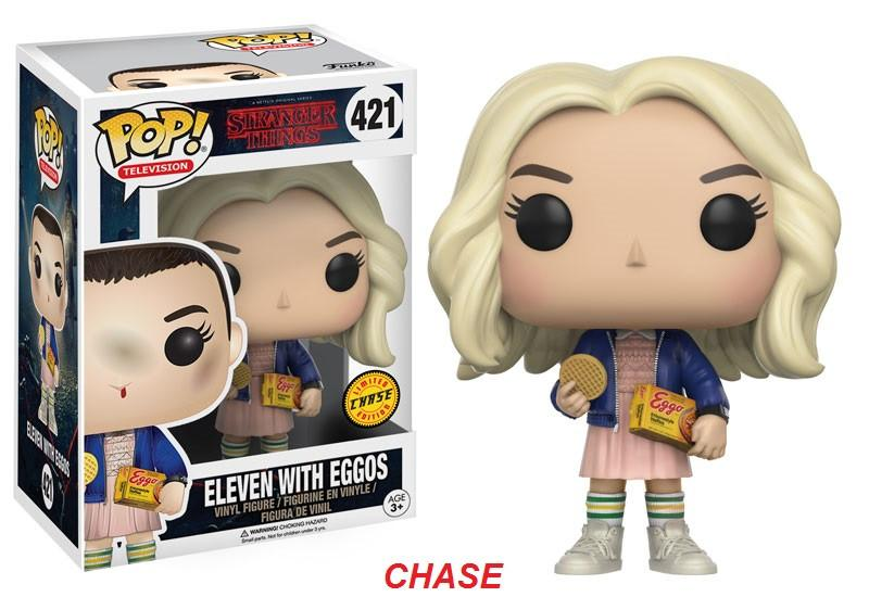 Pop television - Stranger Things Eleven with eggos #421