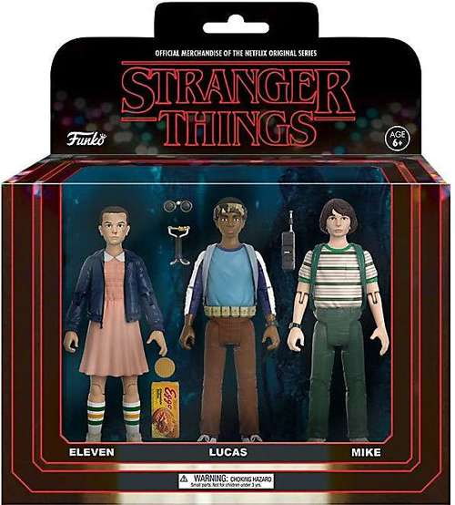 Stranger Things - Action figure 3 pack - sets 1