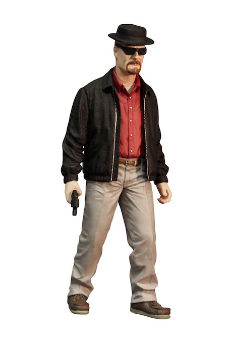Breaking Bad - Action figure - Heisenberg Red shirt - Walter White