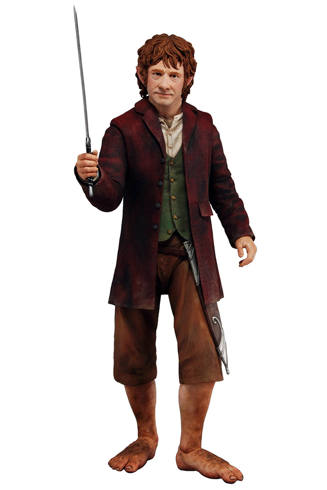 Hobbit (The) - Bilbo Beggins figure - Scala 1/4 (Lord of the Rings - Il Signore degli Anelli)