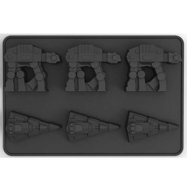 Star Wars - Forma per ghiaccio - Silicone Ice At-At and Destroyer