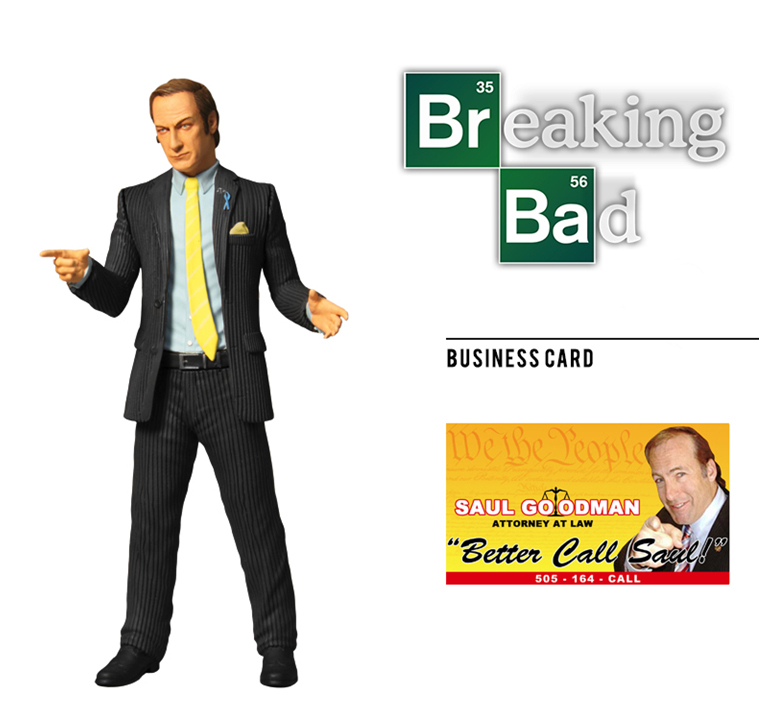 Breaking Bad - Action figure - Saul Goodman