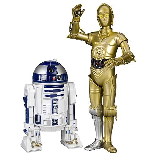 Star Wars - Mini Artfx Figure - C3-PO & R2D2