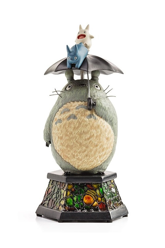Studio Ghibli - Carillon - Totoro with umbrella