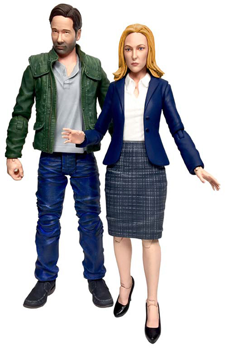 X-files - Action figure - Mulder and Scully set