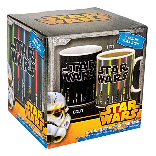 Star Wars VII - Tazza mug - Lightsaber - Heat change mug (Tazza termosensibile)