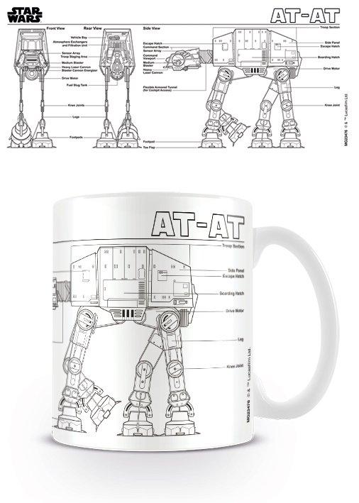 Star Wars - Tazza Mug At-At sketch