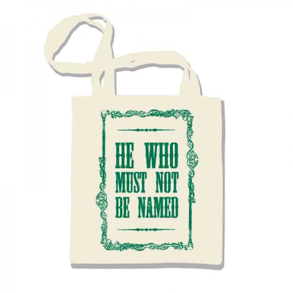 Harry Potter - Borsa shopper - Voldemort: He who must not be named