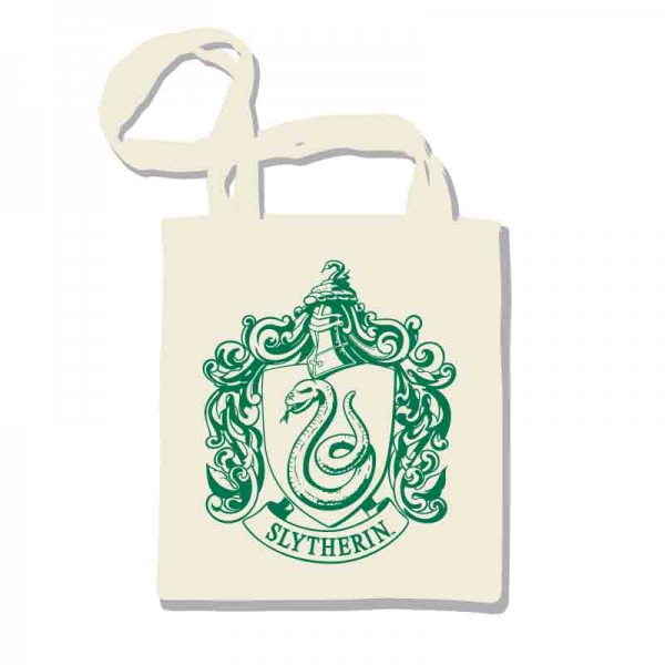 Harry Potter - Borsa shopper - Slytherin - Serpeverde