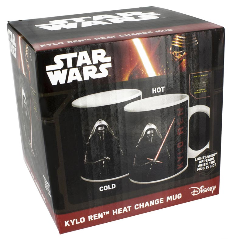 Star Wars VII - Tazza mug - Kylo Ren - Heat change mug (Tazza termosensibile)
