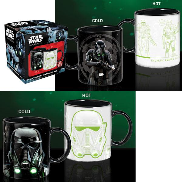 Star Wars Rogue One - Tazza - Death Trooper - Heat change mug (Tazza termosensibile)