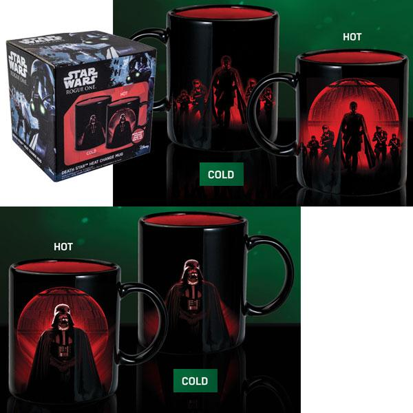 Star Wars Rogue One - Tazza - Death Star - Heat change mug