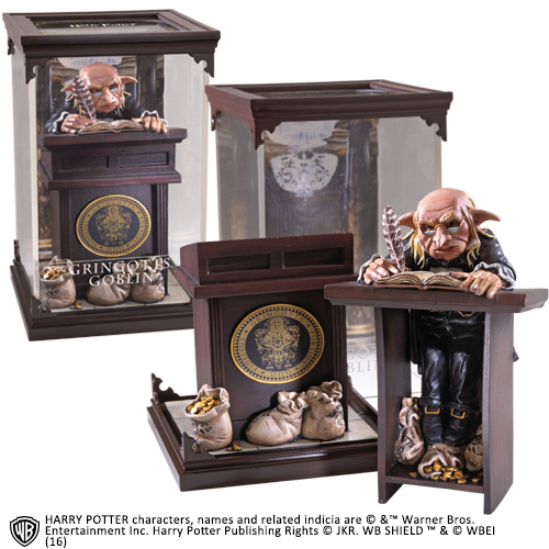 Harry Potter - Magical Creatures - Gringotts Goblin (18 cm)
