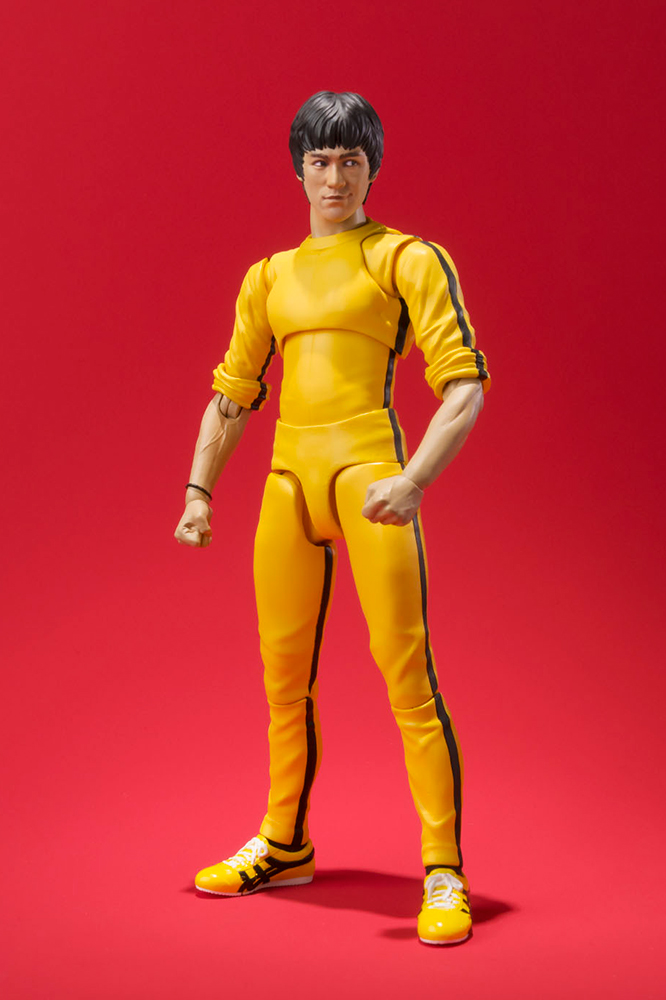 Bruce Lee SH Figuarts - Action figure - Yellow suit
