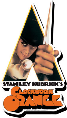 Clockwork Orange (A) - Arancia Meccanica - Calamita - Knife magnet