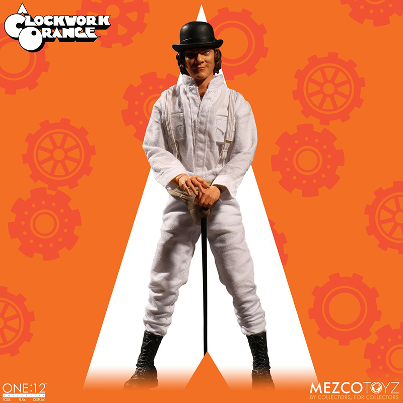 Clockwork Orange (A) - Arancia Meccanica - Alex Cloth Figure (15 cm)