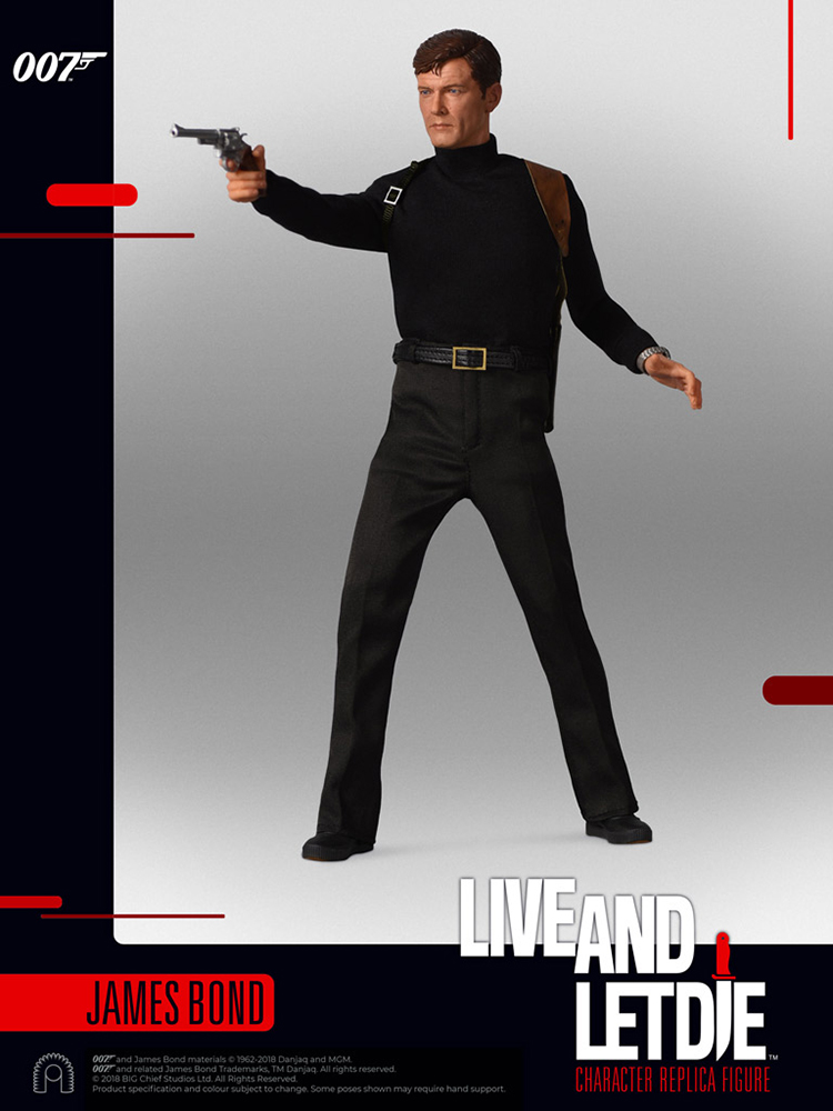 007 James Bond - Action figure 1/6 - James Bond Roger Moore Live and let die (Big Chief)