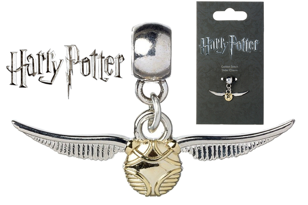 Harry Potter - Ciondolo - Golden Snitch - Boccino D'Oro Slider Charm