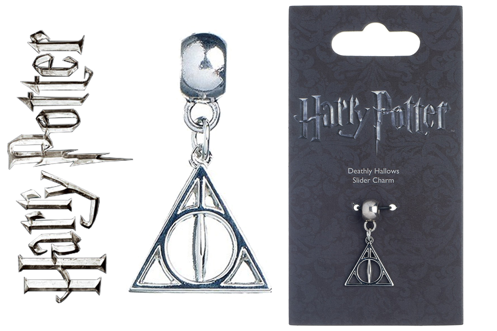 Harry Potter - Ciondolo - Deathly Hallows - I Doni della Morte Slider Charm