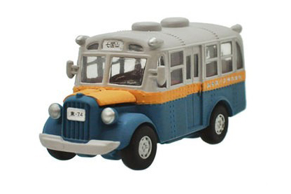 Studio Ghibli - Macchinina a molla - Totoro bonnet bus pull back collection