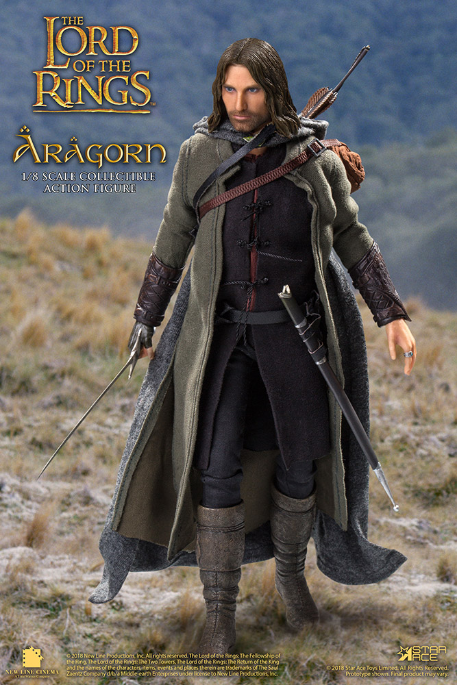Lord of the Rings - Il Signore degli Anelli - Action figure - Aragorn deluxe version (22,5 cm)
