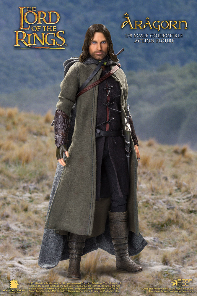 Lord of the Rings - Il Signore degli Anelli - Action figure - Aragorn (22,5 cm)