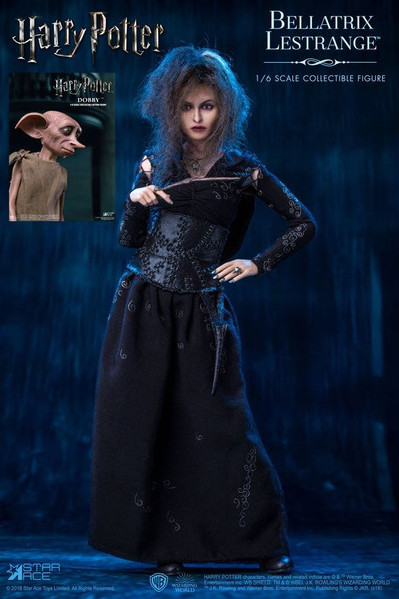 Harry Potter - Action figure - Bellatrix 1/6 deluxe (Dobby included) 1/6 (30 cm)