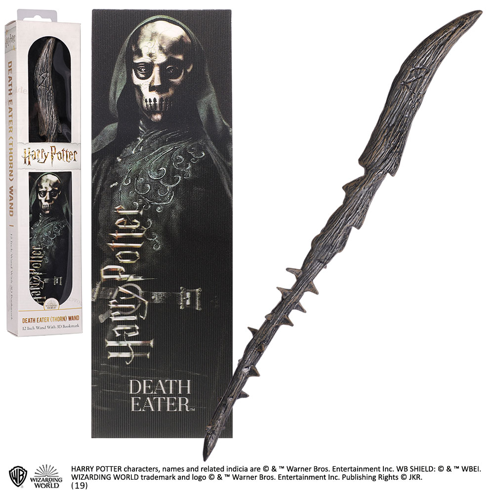 Harry Potter - Bacchetta in pvc - Death Eater - Mangiamorte Pvc wand